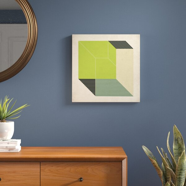 Cubes XIII.V Graphic Art on Wrapped Canvas by Langley Street