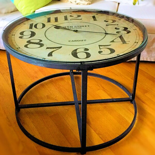 Clock End Table by Whole House Worlds