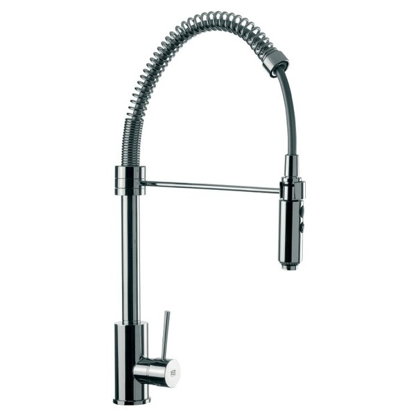 Pull Down Single Handle Kitchen Faucet by Remer by Nameek's