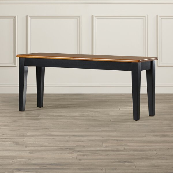 Windham Wood Bench by Alcott Hill