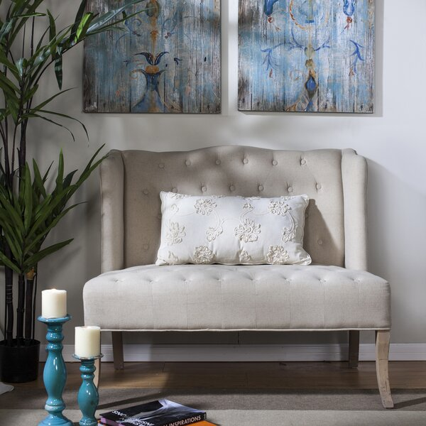 Web Purchase Upholstered Loveseat by A&B Home by A&B Home