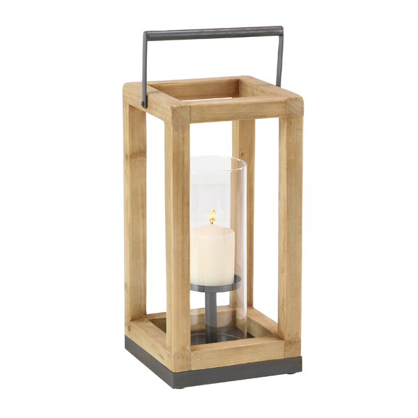 Contemporary Decorative Rectangular Lantern by Foundry Select