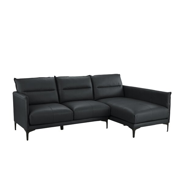 Luxury Brands Anselmo Right Hand Facing Sectional by Orren Ellis by Orren Ellis