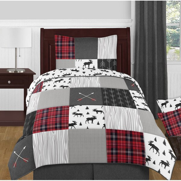 Rustic Patch 4 Piece Twin Reversible Comforter Set by Sweet Jojo Designs