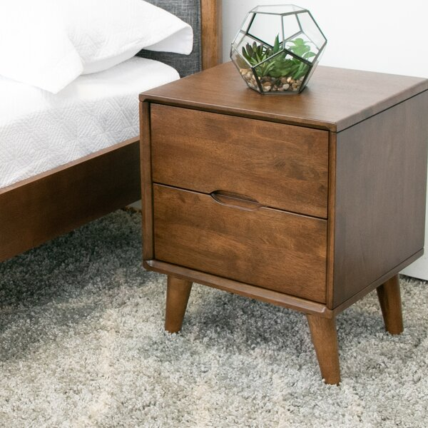 Fullmer 2 Drawer Nightstand by George Oliver