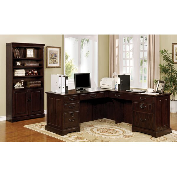 Appleby Transitional L-Shape Desk Office Suite by Darby Home Co