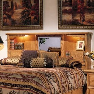 Country Heirloom Bookcase Headboard by Bebe Furniture