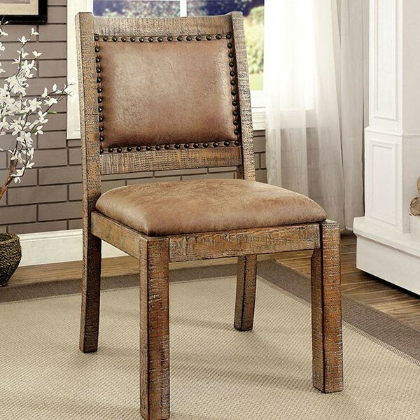 Shipman Upholstered Dining Chair (Set of 2) by Loon Peak