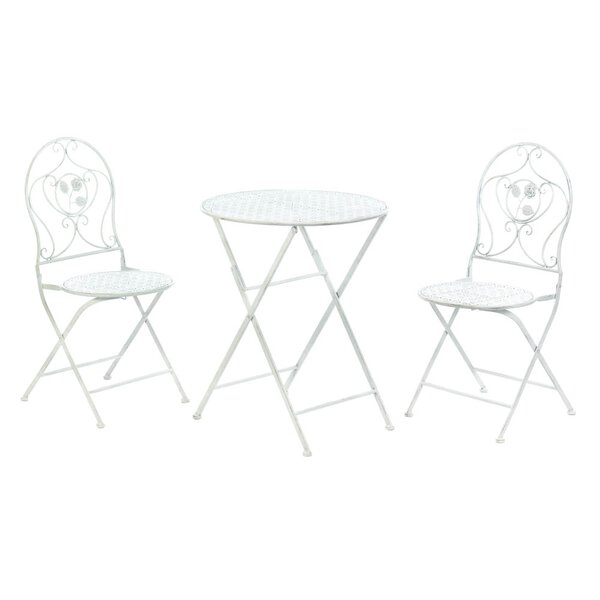 Grace-Ann 3 Piece Bistro Set By Ophelia & Co.