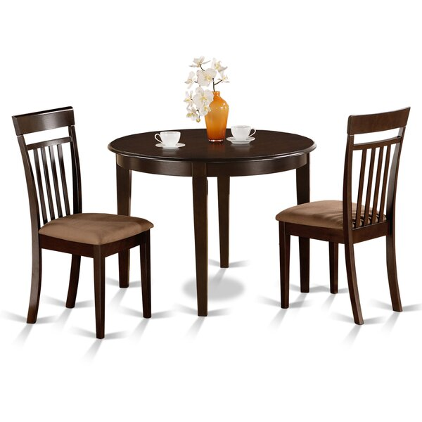 Bosca 3 Piece Dining Set by East West Furniture East West Furniture