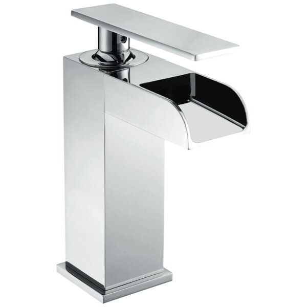 Lever Handle Square Lavatory Single Hole Bathroom Faucet by Valley Acrylic Ltd. Valley Acrylic Ltd.