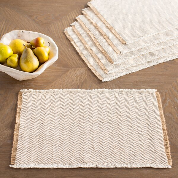 Hampden Placemats (Set of 6) by Birch Lane™