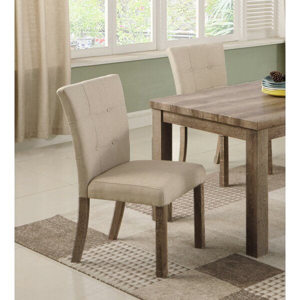 Commonwealth Upholstered Dining Chair (Set of 2) by Ophelia & Co.