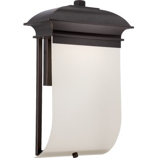 Read Reviews Fordyce 1-Light Outdoor Sconce By Darby Home Co
