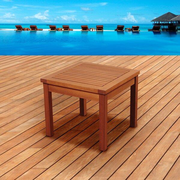 Buckmaster International Solid Wood Side Table by Breakwater Bay