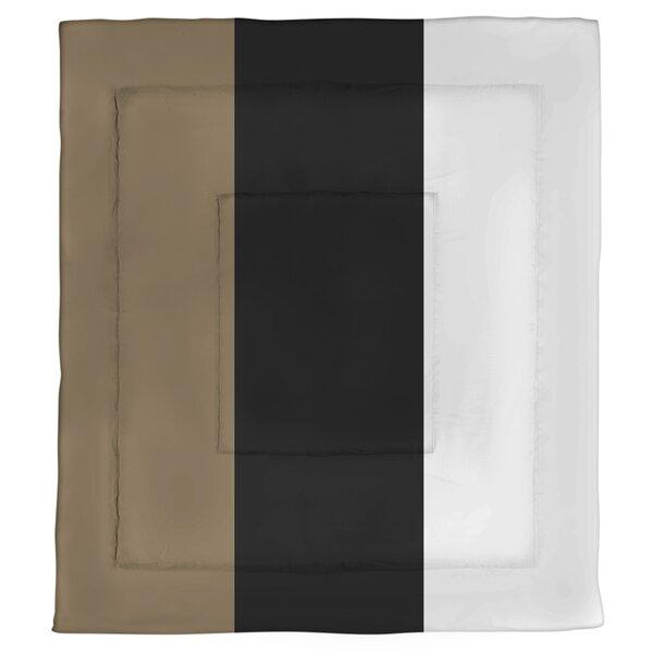 College Stripes Nashville Anchor Microfiber Single Reversible Comforter