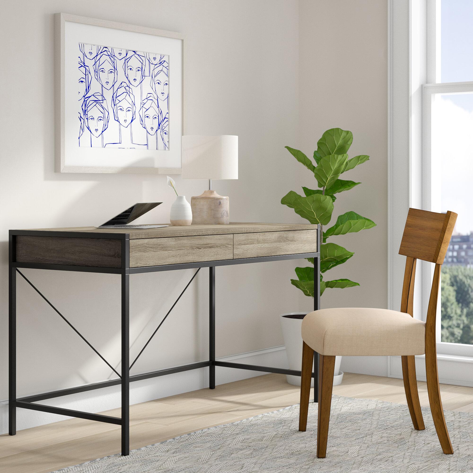 Wrought Studio Getty Desk & Reviews   Wayfair