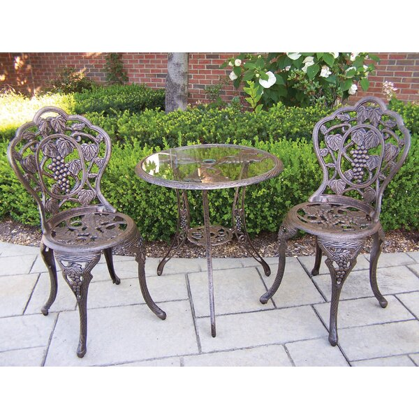 Vineyard Bistro Set by Oakland Living