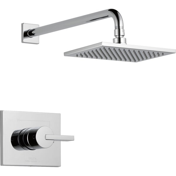 Vero Monitor 14 Series Volume Shower Faucet Trim Lever Handles with Monitor by Delta