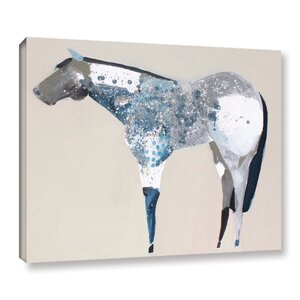 Horse No. 34 Painting Print on Wrapped Canvas by Wrought Studio