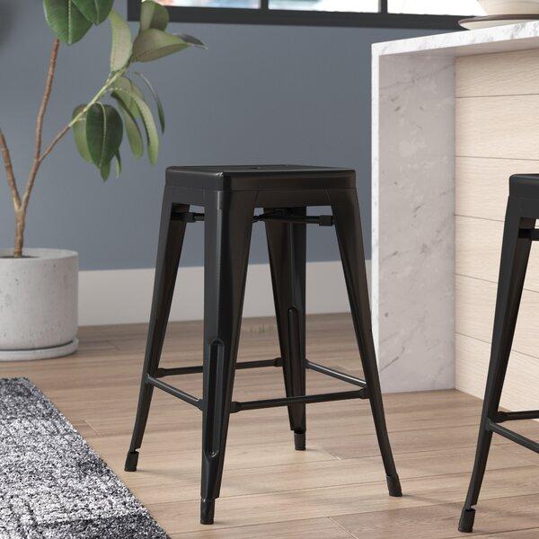 Pleasant Driftwood Counter Stool Wayfair Unemploymentrelief Wooden Chair Designs For Living Room Unemploymentrelieforg