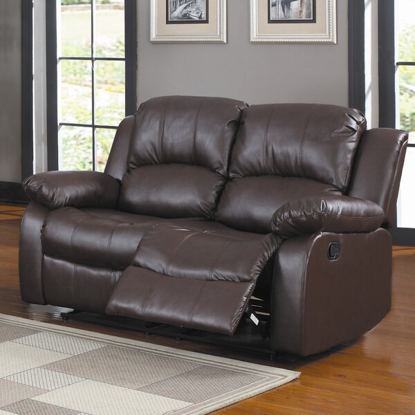 Modern Beautiful Malec Reclining Loveseat by Latitude Run by Latitude Run