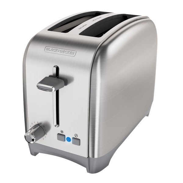 2-Slice Stainless Steel Toaster by Black + Decker