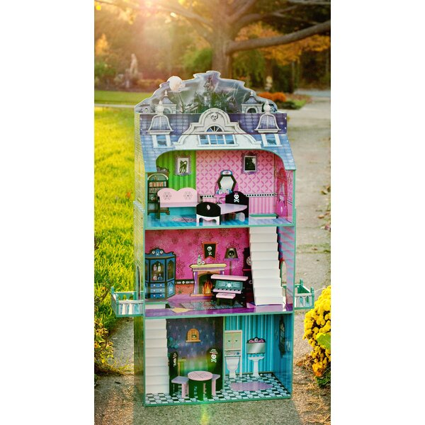 Monster Mansion Doll House by Teamson Kids