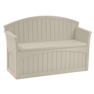 Outdoor Storage Bench Wood Wayfair
