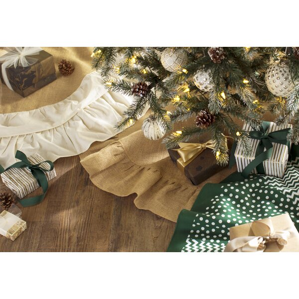 Jute Christmas Tree Skirt by Laurel Foundry Modern