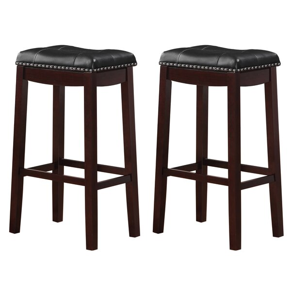 Brought 29 Bar Stool (Set of 2) by Three Posts