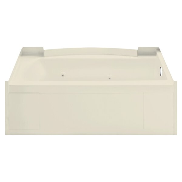 Accord 32 x 13.3 Right Hand Whirlpool Bathtub by Sterling by Kohler