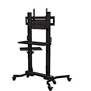 Floor Stand Mount for Greater than 50 Flat Panel Screens by Crimson AV