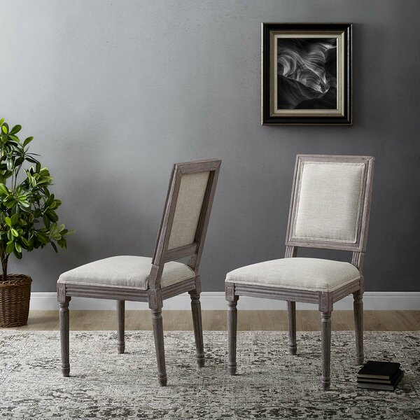 Juno Upholstered Dining Chair (Set of 2) by One Allium Way