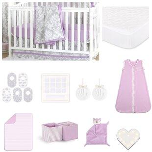 Online Reviews Damsel Essentials 18 Piece Crib Bedding Set ByThe Peanut Shell