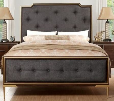 Kissena Upholstered Standard Bed by Everly Quinn