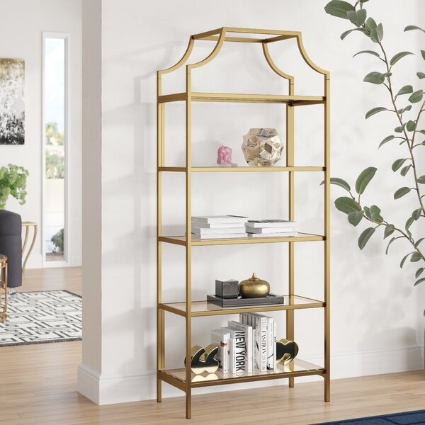 Damon Standard Bookcase by Mistana