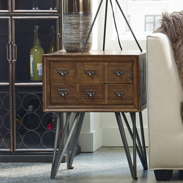 Cabrera End Table By Gracie Oaks