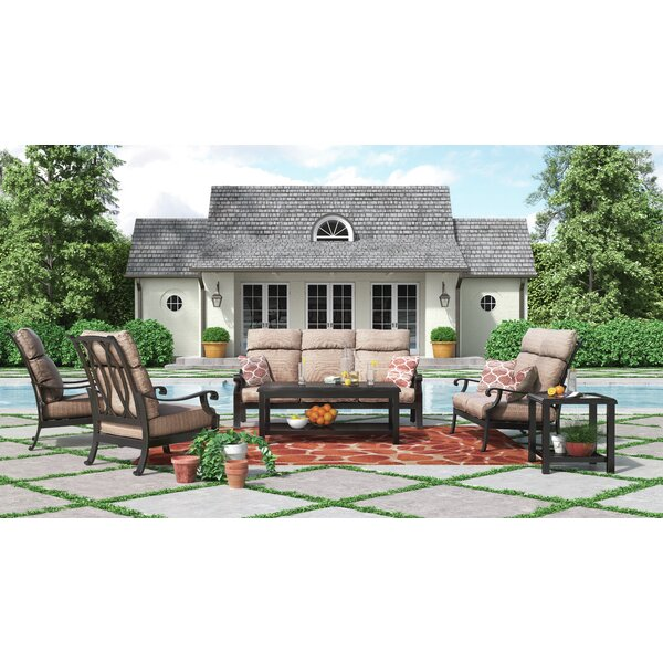 Jacobi Deep Seating Group With Cushion by Alcott Hill