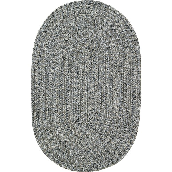 Lemon Grove Smoke Variegated Outdoor Area Rug by Beachcrest Home