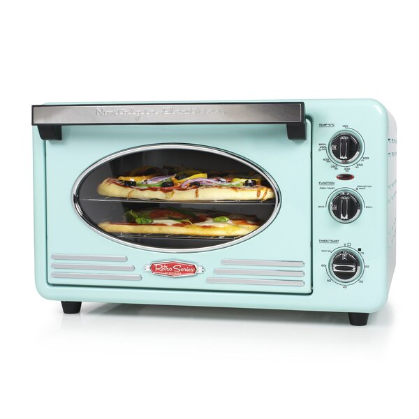 0.7 Cu. Ft. Retro Series Countertop Oven by Nostalgia