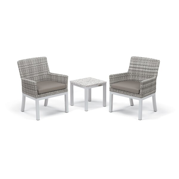 Lambright 3 Piece Conversation Set with Cushions by Latitude Run