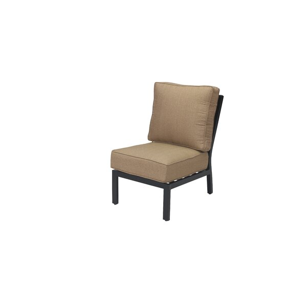 Kyree Armless Patio Chair with Cushions by Darby Home Co