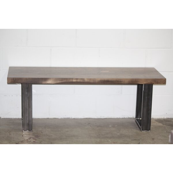 Lathan Maple Wood Bench by Union Rustic