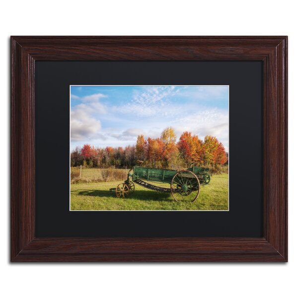 The Old Rake by Michael Blanchette Framed Photographic Print by Trademark Fine Art
