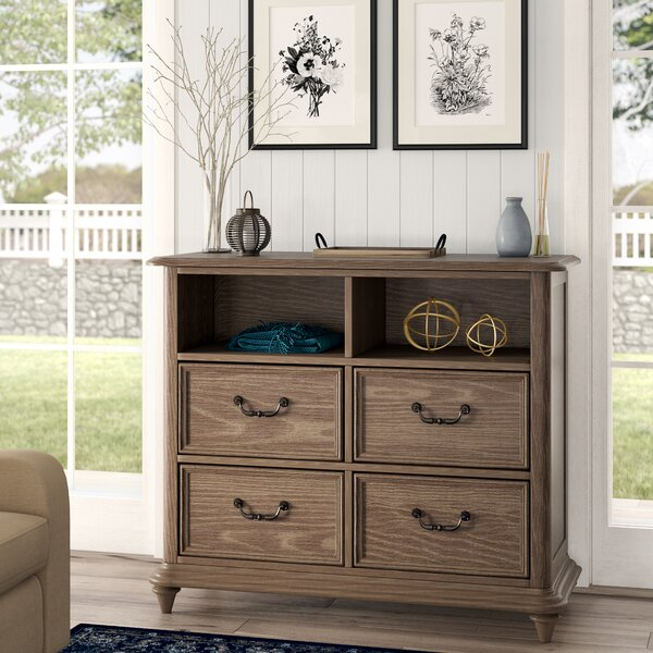Calila 4 Drawer Media Chest by Foundry Select