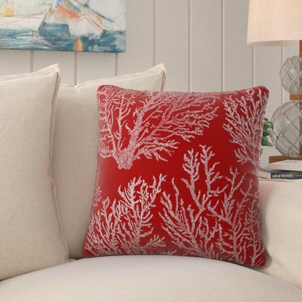 Fragoso Sea of Coral Indoor/Outdoor Throw Pillow