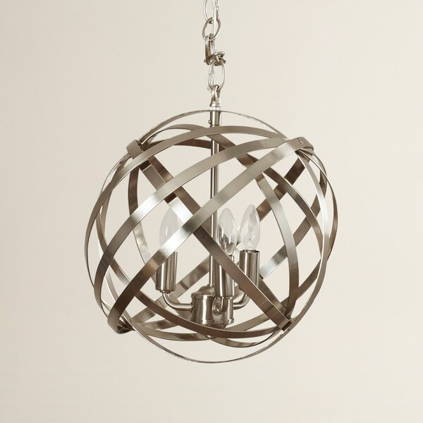 Adcock 3-Light Pendant by Everly Quinn