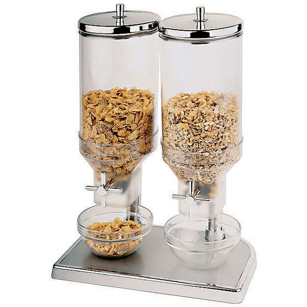 Double 150.4 Oz. Cereal Dispenser by Paderno World Cuisine