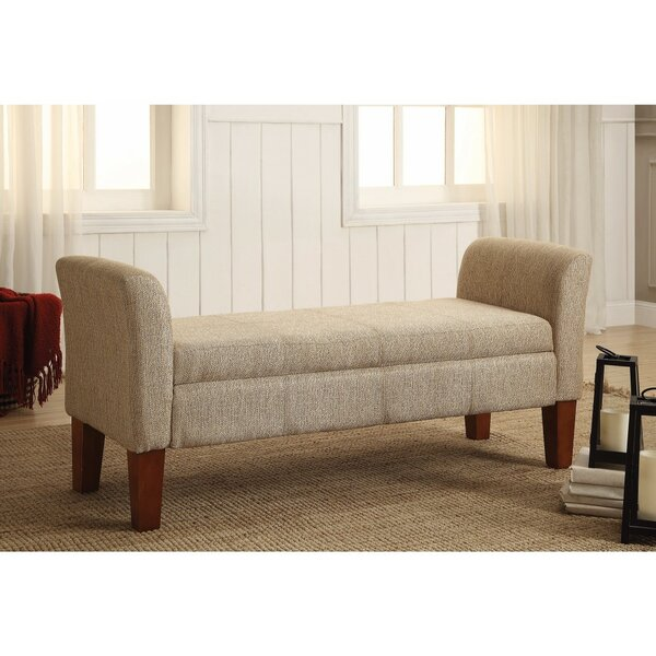 Keown Practically High-toned Upholstered Bench by Alcott Hill